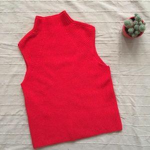 WORN ONCE Aritizia Wilfred Wool Mock Neck sweater
